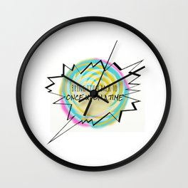 Bring it on back Wall Clock