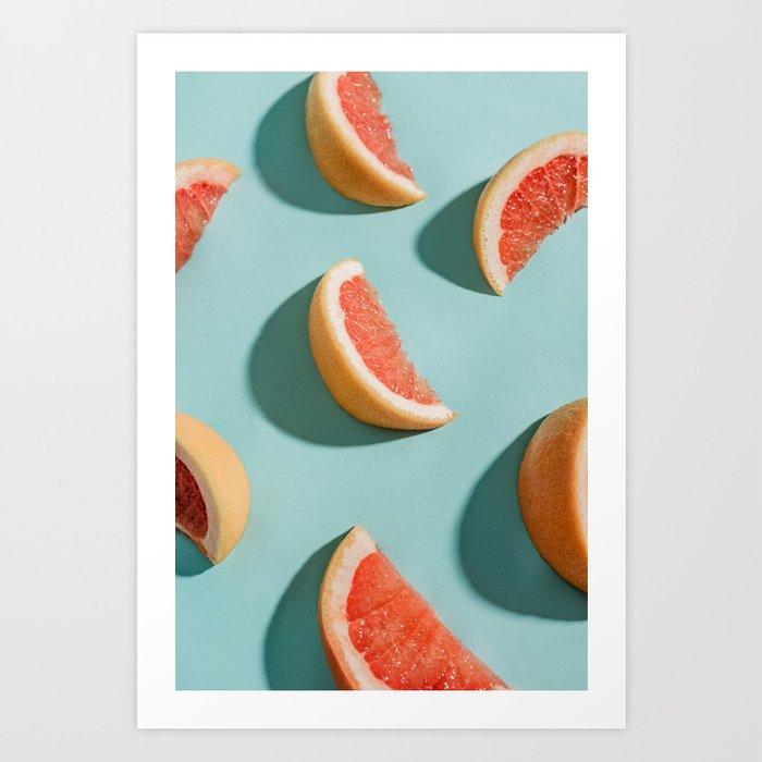 Grapefruit Kunstdrucke