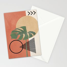 Nature Geometry I Stationery Cards