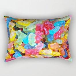 Gummy Bear Don't Care Rectangular Pillow
