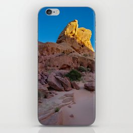 Colorful Sandstone, Valley of Fire - IIIa iPhone Skin