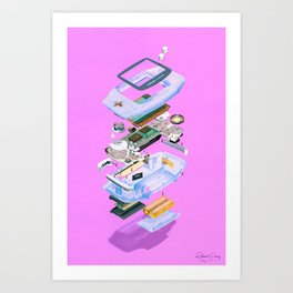 Assembly Required 11 Art Print