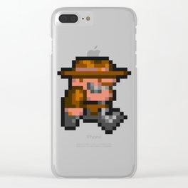 Rick Dangerous Clear iPhone Case