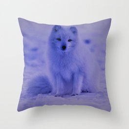 snowfox 153 Throw Pillow