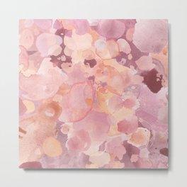 Rosy Tones Metal Print