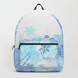 Snowflakes Backpack