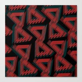 Tryangles Canvas Print