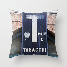 TABACCHI - Sicily Throw Pillow