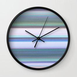 Seashore Stripes Wall Clock