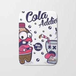 Red Cola Addict Bath Mat