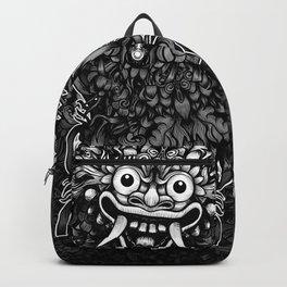 Bali Mask Backpack