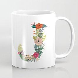 Monogram Letter J Coffee Mug