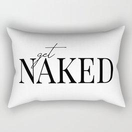 get naked II Rectangular Pillow
