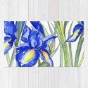 Blue Iris, Illustration by jrosedesign