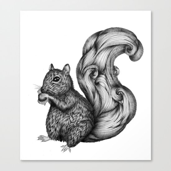 Nuts for a Friend Canvas Print