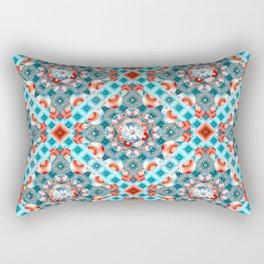 Decorative Lovebirds Rectangular Pillow