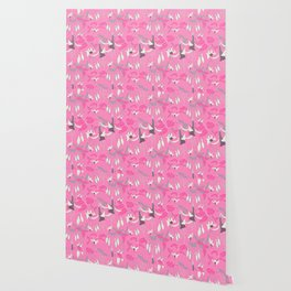 Fuchsia Pink. Wallpaper