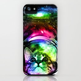 Cosmos Cat iPhone Case