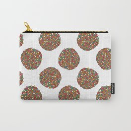 FRECKLES - WHITE Carry-All Pouch