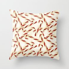 Christmas Candy Cane Pattern Throw Pillow