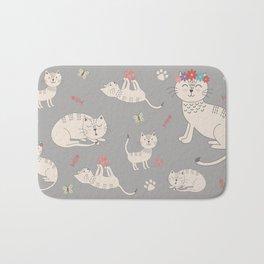 HAPPY CATS Bath Mat