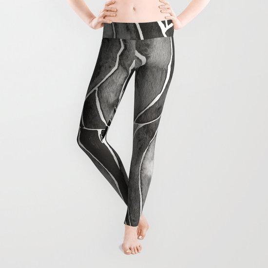 Black Vietnamese Lanterns Leggings