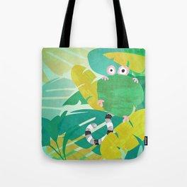 Wide-Eyed Oggle (Bewundering World of Bewilderbeests) Tote Bag