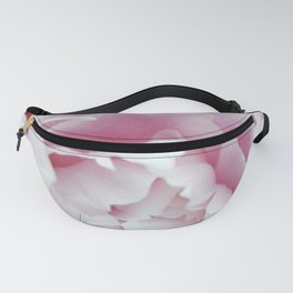 Pink Peony Heart - Floral Photography by Fluid Nature Fanny Pack