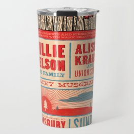 Willie Nelson And Family   Travel Mug