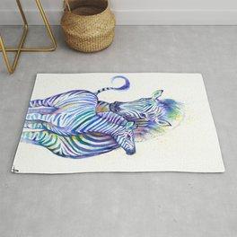 Zippy Zebras Rug
