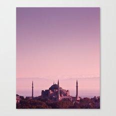 Hagia Sophia (Aya Sofia, Istanbul)  Canvas Print