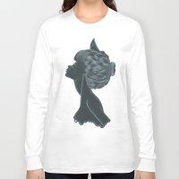 nurse Long Sleeve T-shirts featuring Nurse by Zdenka Koskova