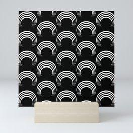 White arches Mini Art Print