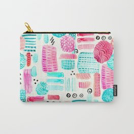 Dots, Circles and Dashes Carry-All Pouch