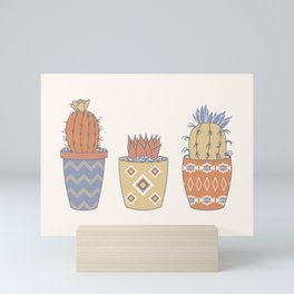 Prickly Pear (Vista) Mini Art Print