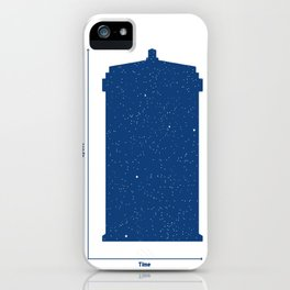 Tardis, Space and Time iPhone Case
