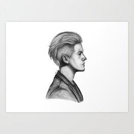 Dylan Art Print