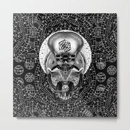 GRIMOIRE II Metal Print