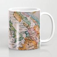 sail Mugs featuring sail. by Hannah M.