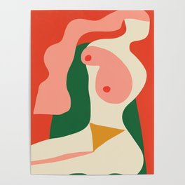 abstract nude 2 Poster