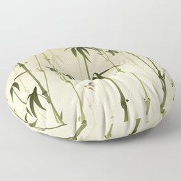 Bamboo forest Floor Pillow