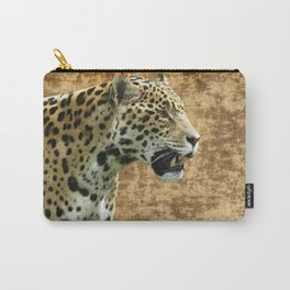 Wild Jaguar Carry-All Pouch