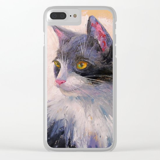 A lovely cat Clear iPhone Case
