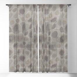 Petoskey Stone Sheer Curtain