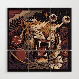 Tiger Wood Wall Art