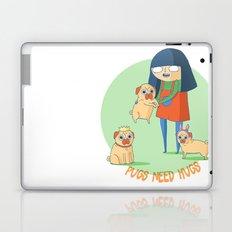 Pugs need hugs Laptop & iPad Skin
