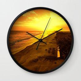 Goodbyecation Wall Clock