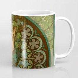 "Alphonse Mucha ""Ivy"" Coffee Mug"