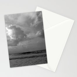 Angry Ocean, Awesome Clouds Stationery Cards