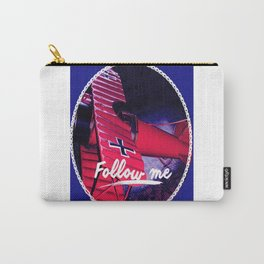 Follow me , Sigueme, Suis Moi, Vold Mic, Forge Mir Carry-All Pouch